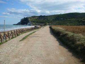 Accesso alla Baia d Calenella