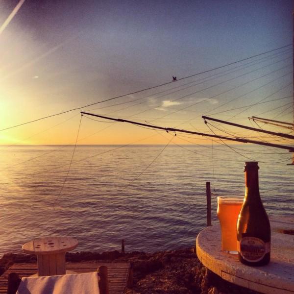 trabucco live sunset